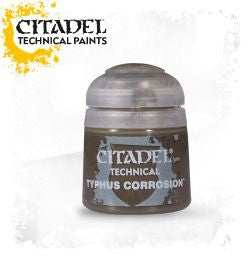 Citadel technical paint - Typhus Corrosion (12ml) :www.mightylancergames.co.uk