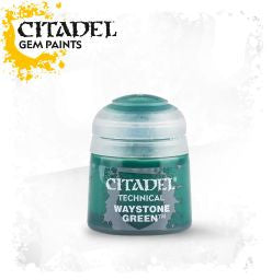 Citadel technical paint - Waystone Green (12ml) :www.mightylancergames.co.uk
