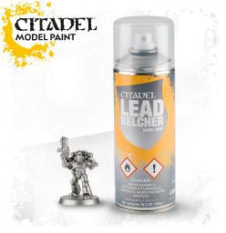 Citadel Model Paint - Leadbelcher Spray: www.mightylancergames.co.uk