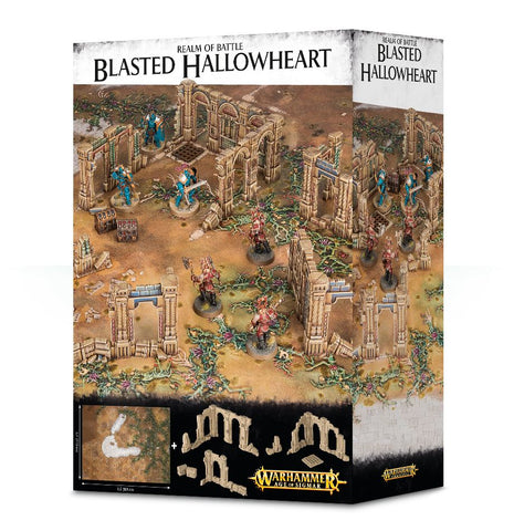 Age of Sigmar: Scenery - Realm of Battle: Blasted Hallowheart