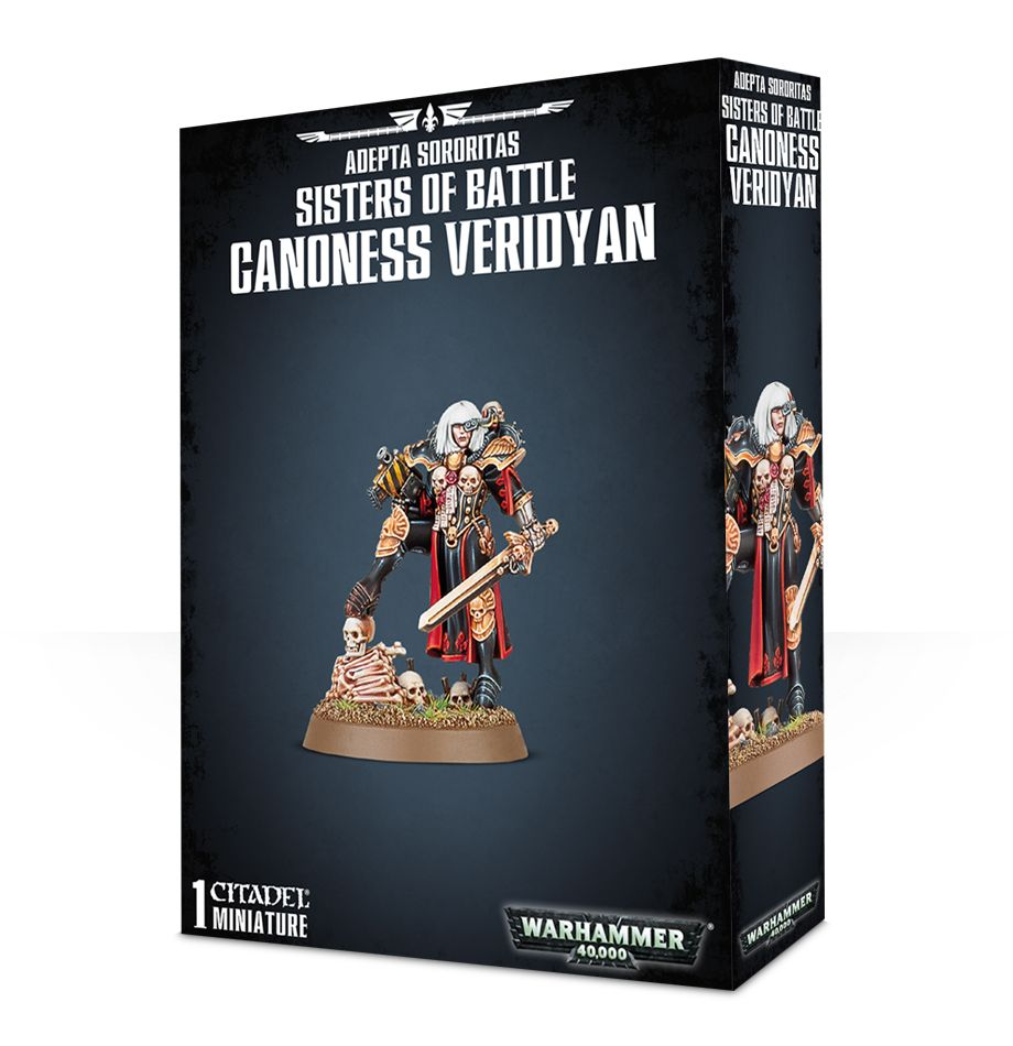 Sisters of Battle: Canoness Veridyan