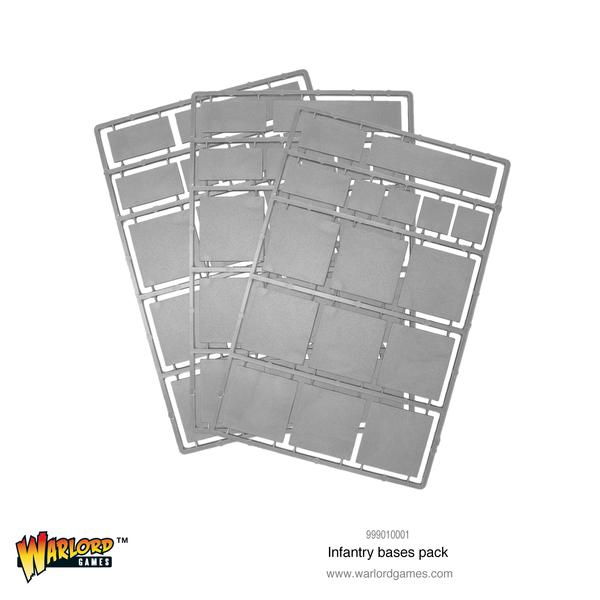 Infantry Bases Pack (Warlord Games) :www.mightylancergames.co.uk