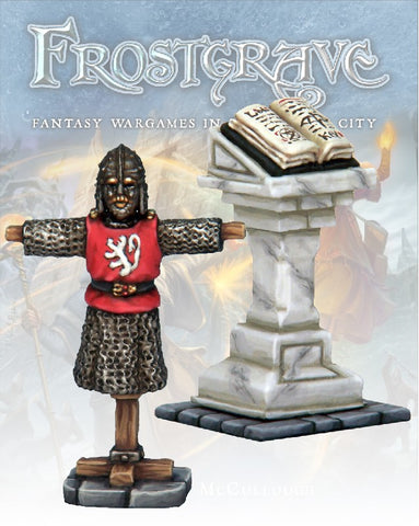 Frostgrave: Armour Rack & Lantern: www.mightylancergames.co.uk
