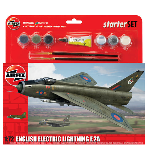 English Electric Lightning F.2A - Large Starter Set- Airfix -A55305