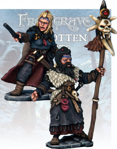 Frostgrave: Barbarian Wizard & Apprentice: www.mightylancergames.co.uk