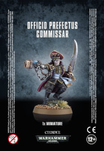 Officio Prefectus Commissar - Astra Militarum (Warhammer 40k) :www.mightylancergames.co.uk
