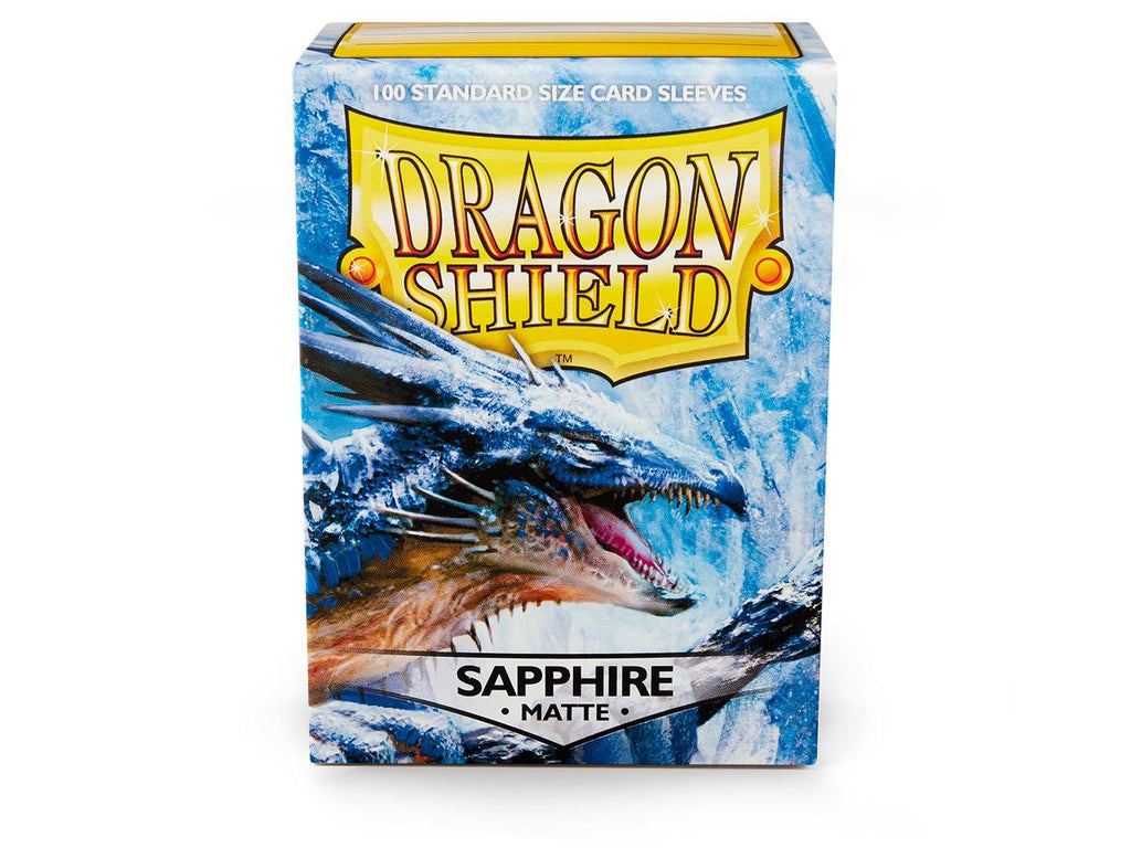 Dragon Shield Matte Sapphire – 100 Standard Size Card Sleeves: www.mightylancergames.co.uk