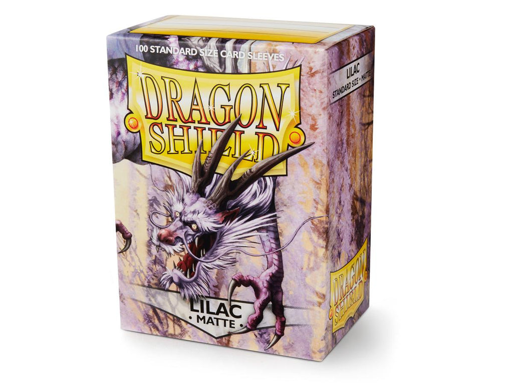 Dragon Shield - Lilac Matte: www.mightylancergames.co.uk