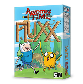 Adventure Time Fluxx: www.mightylancergames.co.uk