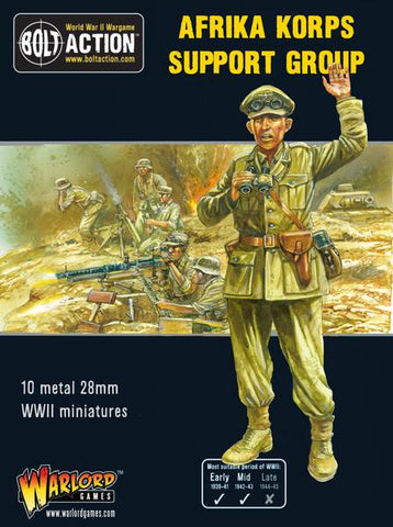 German Afrika Korps Support Group - Bolt Action: www.mightylancergames.co.uk