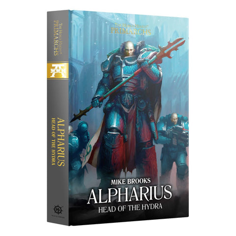 The Horus Heresy Primarchs: Alpharius Head of the Hydra by Mike Brooks