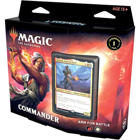 Arm For Battle Commander Legends Commander Deck MTG