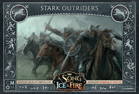 A Song of Ice & Fire: Tabletop Miniatures Game -Stark Outriders.