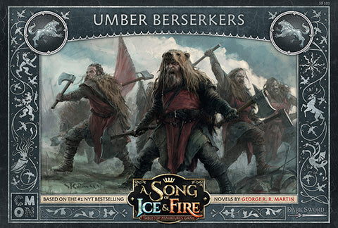A Song of Ice & Fire: Tabletop Miniatures Game -Umber Berserkers.