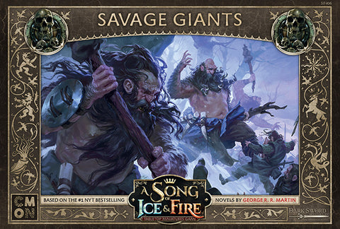 Savage Giants - A Song of Fire & Ice