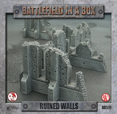 Battlefield in a Box: Gothic Ruined Walls (BB519)