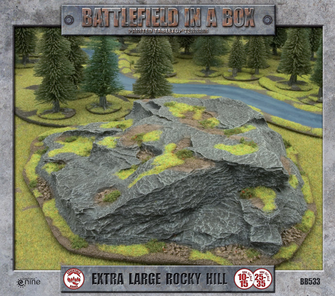 Battlefield in a Box: Extra Large Rocky Hill (BB533)