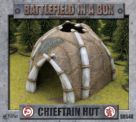 Battlefield in a Box - Chieftains Hut: www.mightylancergames.co.uk