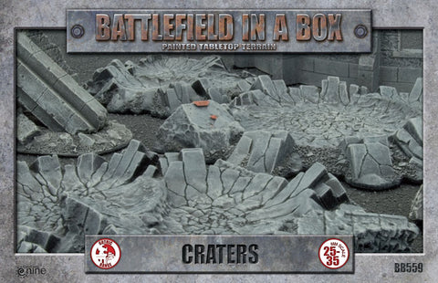 Craters - Batttlefield in a Box (BB559)