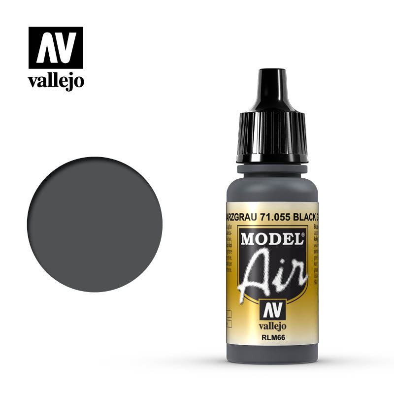 Black Grey Rlm66 - 17Ml Model Air