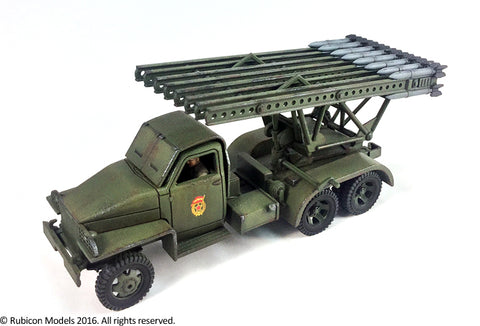 "Soviet BM-13 ""Katyusha"" MRL (Rubicon Models) :www.mightylancergames.co.uk"