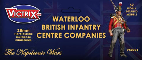 Waterloo British Infantry Centre Companies (Victrix VX0001)