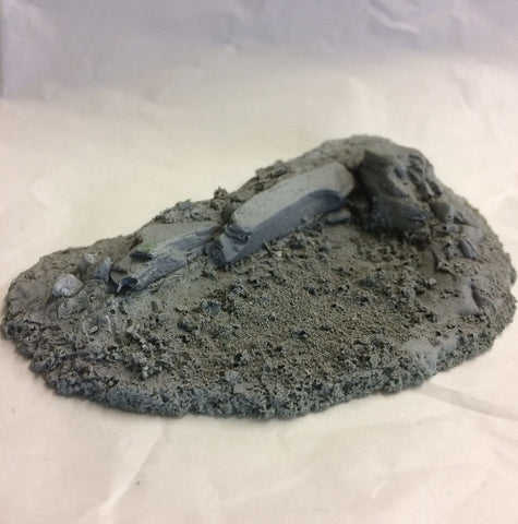 resin rock terrain for wargames