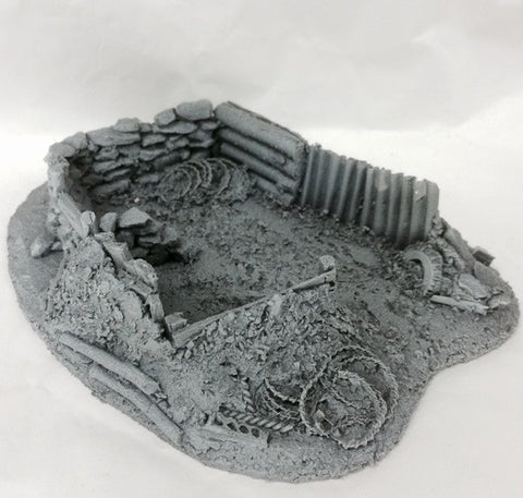 resin trench terrain for wargames
