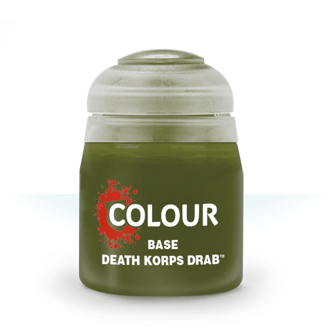 Death Korps Drab Base Paint (12ml) - Citadel Colour