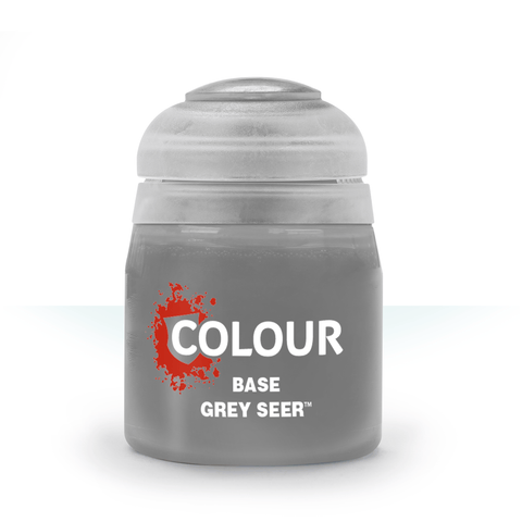 Grey Seer Base Paint (12ml) Contrast - Citadel Colour