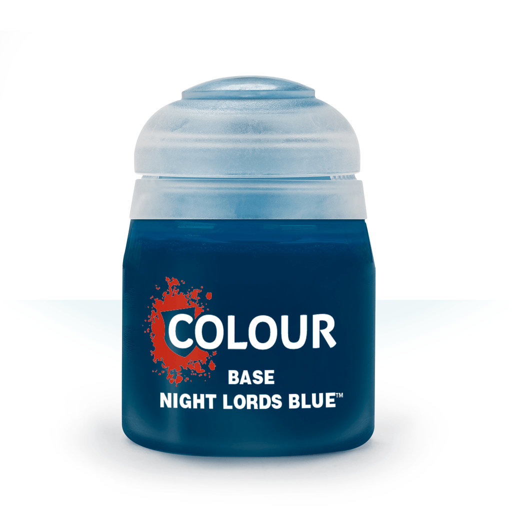 Night Lords Blue Base Paint (12ml) - Citadel Colour