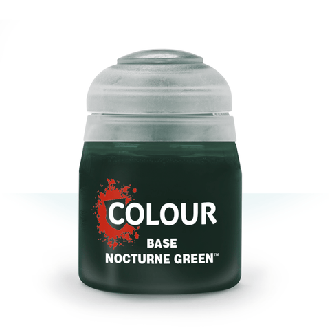 Nocturne Green Base Paint (12ml) - Citadel Colour