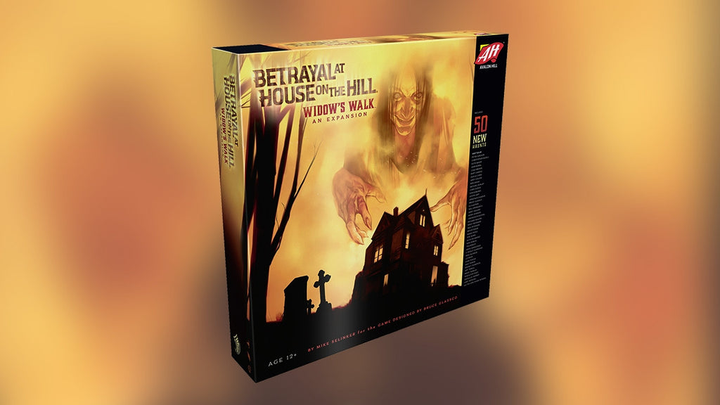 Widow's walk - Betrayal At House on the Hill Expansion: www.mightylancergames.co.uk