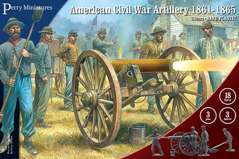 American Civil War Artillery - ACW90 (Perry Miniatures)