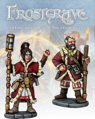 Frostgrave: Chronomancer & Apprentice: www.mightylancergames.co.uk