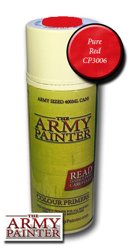 The Army Painter: Colour Primer - Pure Red