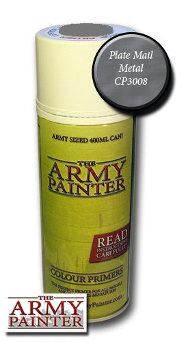The Army Painter: Colour Primer - Plate Mail Metal