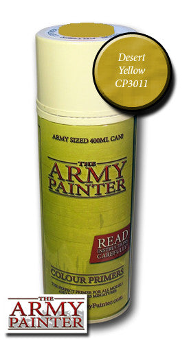 Army painter desert yellow spray primer 400ml
