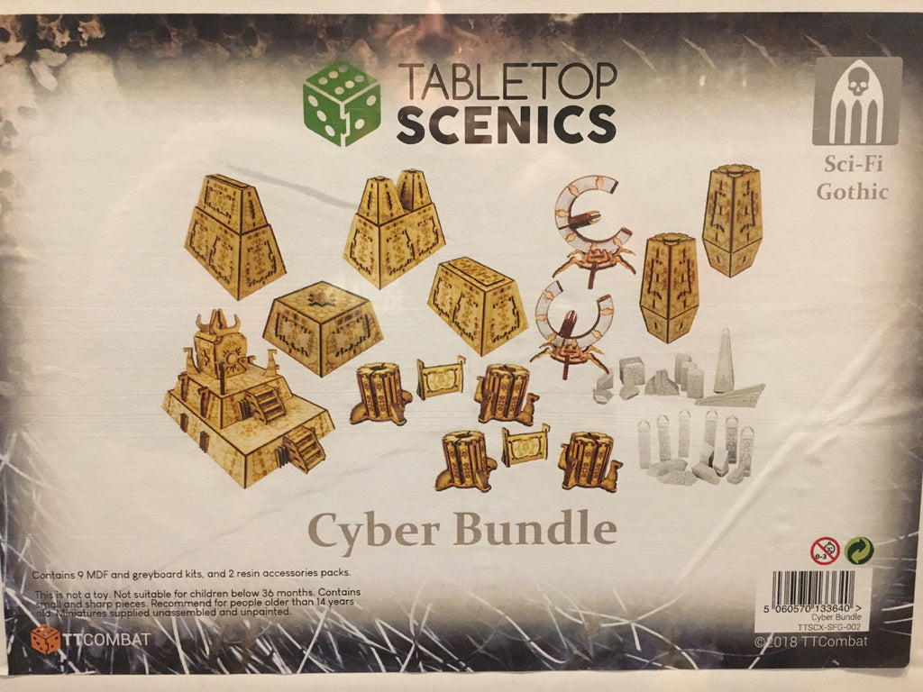 Cyber Bundle - Tabletop Scenics