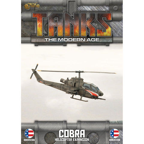 American Cobra Helicopter Expansion Tanks: The Modern Age