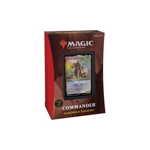 Lorehold Legacies Magic The Gathering Commander Deck Strixhaven