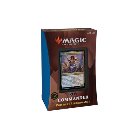 Prismari Performance Commander Deck Magic The Gathering