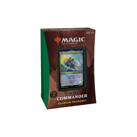 Quantum Quandrix Commander Deck Strixhabven School Of Mages MTG