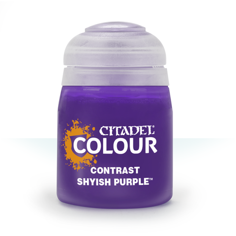 Shyish Purple (18ml) Contrast - Citadel Colour  :www.mightylancergames.co.uk