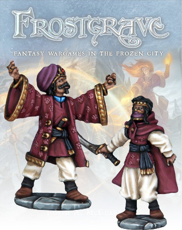 Frostgrave - Summoner & Apprentice: www.mightylancergames.co.uk