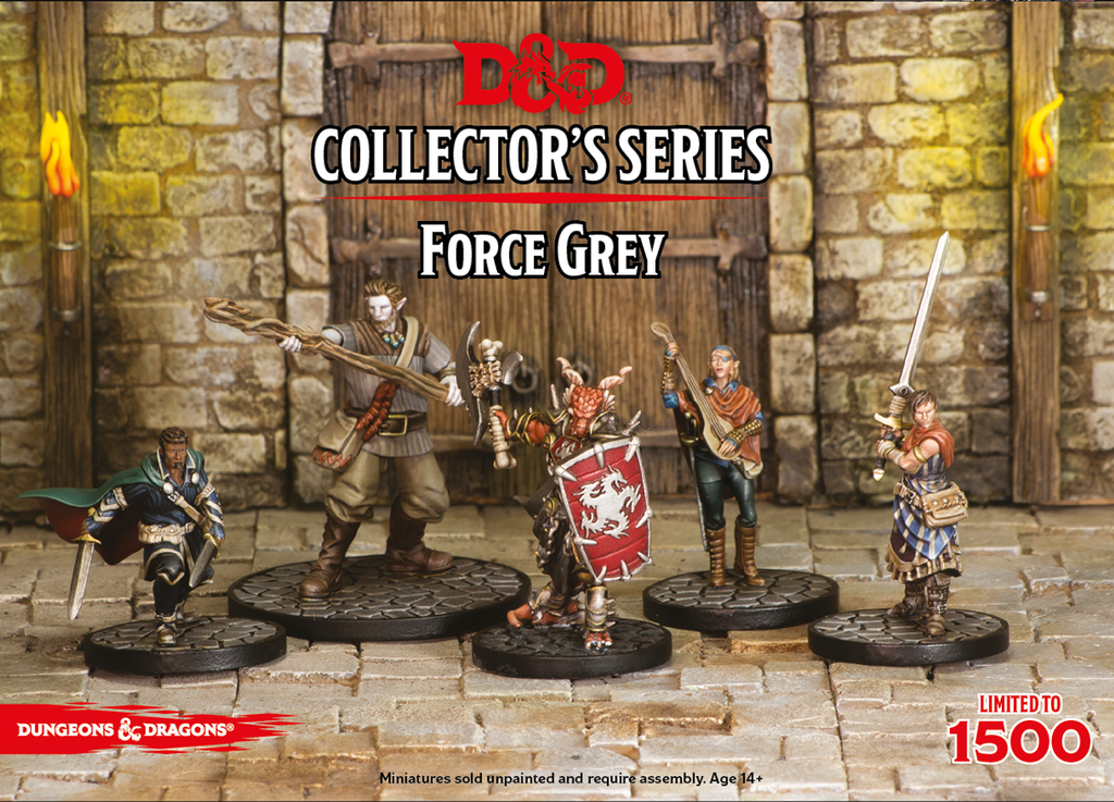 D&D Collector's Limited Edition Series - Force Grey: www.mightylancergames.co.uk