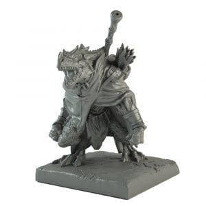 Artakl, Ghekkotah Clutch Warrior - Forces of Nature (Kings of War & Vanguard) :www.mightylancergames.co.uk