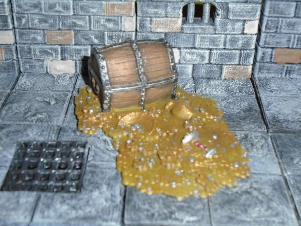 Treasure Hoard (Iron Gate Scenery IG00053) :www.mightylancergames.co.uk