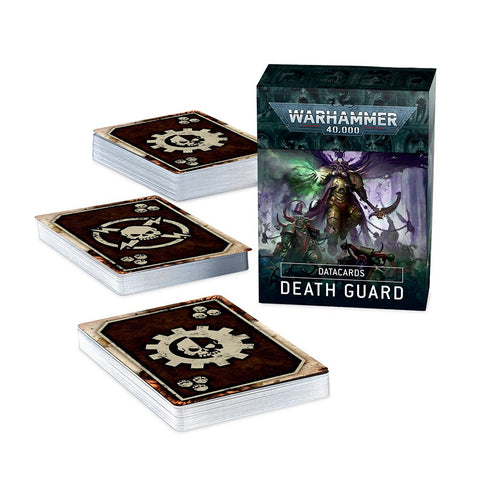 Death Guard Datacards Warhammer 40,000