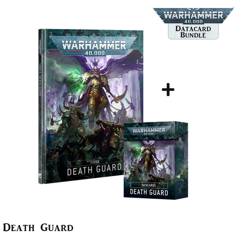 Death Guard Codex & Data Card Set